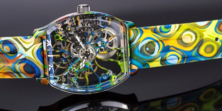 Water Transfer Printing sur une montre