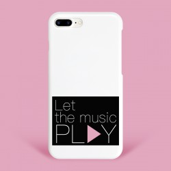 Coque Music Barry White pink